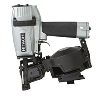Hitachi NV45AES Coil Roofing Nailer with Bottom-Load Magazine at Sears.com