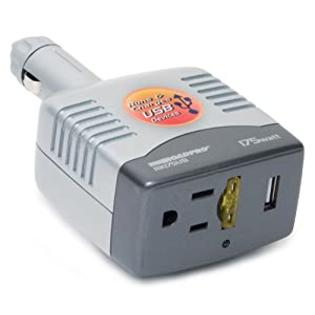 PowerDrive 175 Watt DC to AC Power Inverter with Swivel 12-Volt Plug and USB Port at Sears.com
