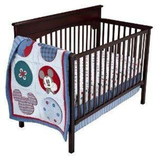 Kidsline Mod Mickey Mouse Crib Bumper at Sears.com