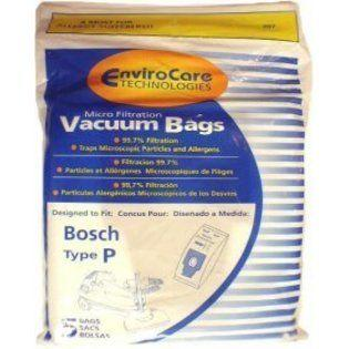 Bosch  Type P MEGAfilt Super TEX Vacuum Cleaner Bags BBZ52AFP2U - 5 pack at Sears.com