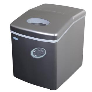 Overstock.com NewAir Appliance Silver Portable Ice Maker at mygofer.com
