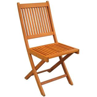 Overstock.com Royal Tahiti Folding Chairs (Set of 2) at mygofer.com