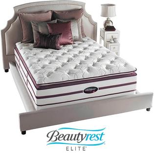 AT HOME by O Beautyrest Elite Plato Plush Firm Super Pillow Top Queen-size Mattress Set at Sears.com