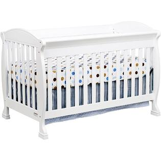 AT HOME by O DaVinci Jacob 4-in-1 Crib with Toddler Rail in White at Sears.com