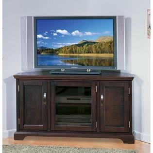 AT HOME by O Chocolate Bronze 46-inch Corner TV Stand &amp; Media Console at Sears.com