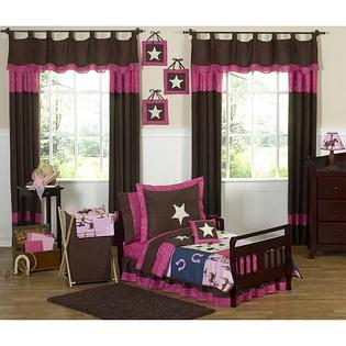 AT HOME by O Sweet JoJo Designs Western Horse Cowgirl 5-piece Toddler Girl&#039;s Bedding Set at Sears.com
