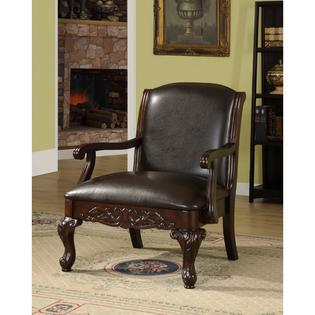 AT HOME by O Antique Dark Cherry Accent Chair at Sears.com