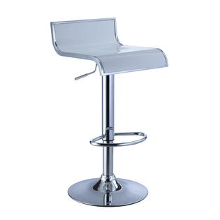 AT HOME by O White/ Chrome Adjustable Bar Stool at Sears.com