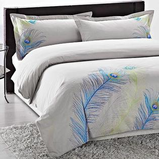 AT HOME by O Peacock Embroidered 3-piece Duvet Cover Set at Sears.com