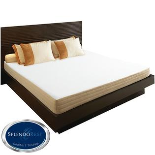 AT HOME by O SplendoRest Isotonic 8-inch King-size Memory Foam Mattress-in-a-Box at Sears.com