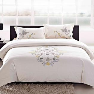 AT HOME by O Hyacinth Embroidered 3-piece Duvet Cover Set at Sears.com