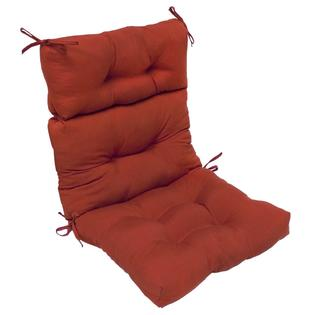 Overstock.com Outdoor &#039;Red&#039; High Back Chair Cushion at Sears.com