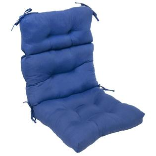 Overstock.com Outdoor Aqua Blue High Back Chair Cushion at Sears.com
