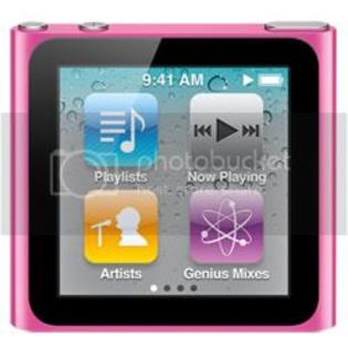 Apple iPod Nano 6th Generation Multi-Touch 8GB Pink- USED at Sears.com