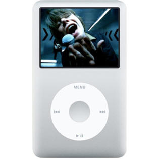 Apple REFURBISHED 160GB Apple Ipod Classic w Video 6th Generation Silver MC293LL/A at Sears.com
