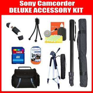 ZeemoDigital Tripod + MORE Accessory Kit For Sony HDR-CX760V High Definition Handycam Camcorder at Sears.com