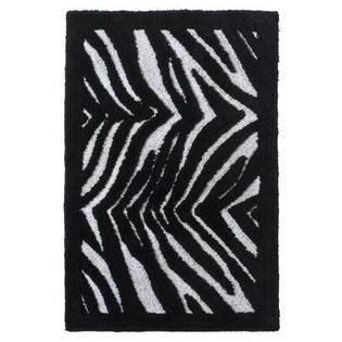 Creative Bath Zebra Pattern Black and White Bath Bathroom Rug Mat at Sears.com