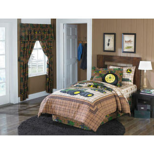 John Deere Tractor Boys Twin Comforter &amp; Sheet Set (4 Piece Bedding) at Sears.com