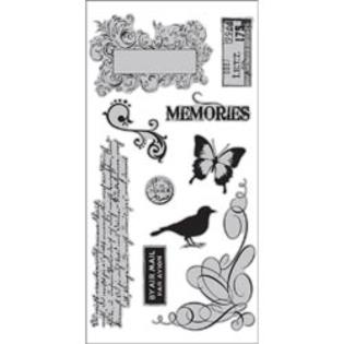 Hampton Art 7 Gypsies Cling Stamps 4&amp;#34;X9&amp;#34; Sheet-Par Avlon at Sears.com