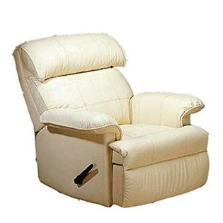 WelcomeiHome .INC Rocker Recliner Chair Ivory Leather Match  from Welcome iHome at Sears.com