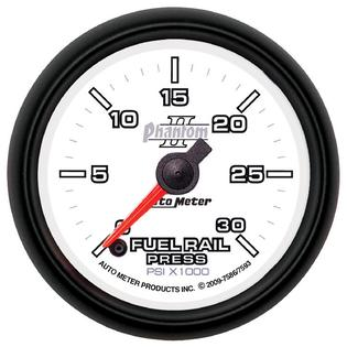 Auto Meter 7586 Phantom II; Fuel Rail Pressure Gauge at Sears.com