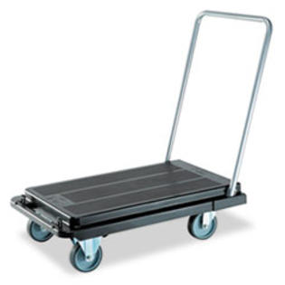 MotivationUSA * Heavy-Duty Platform Cart, 500lb Capacity, 20-9/10w x 32-5/8d x 9h, Bla at Sears.com