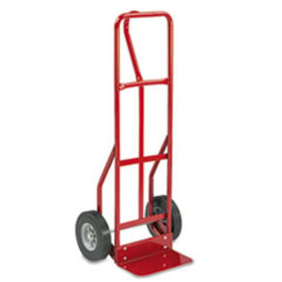MotivationUSA * Two-Wheel Steel Hand Truck, 500lb Capacity, 18w x 47h, Red at Sears.com