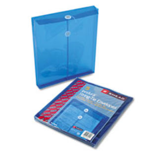MotivationUSA * Poly String &amp; Button Envelope, 9 3/4 x 11 5/8 x 1 1/4, Blue, 5/Pack at Sears.com