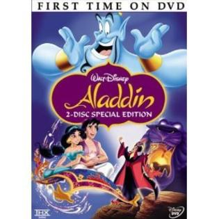 WALT DISNEY Aladdin DVD, Disney (2004, 2-Disc Set, Special Edition English/French/Spanish) at Sears.com