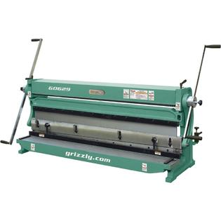 Grizzly 52&amp;#34; 3 In 1 Sheet Metal Machine at Sears.com