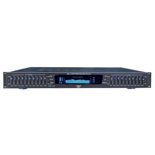 PYLEPRO 19&#039;&#039; Rack Mount Dual 10 Band 4 Source Input Stereo Spectrum Graphic Equalizer at Sears.com