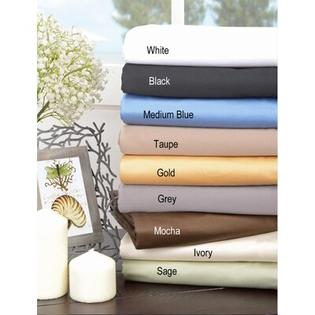 Simple Luxury 1500 Thread Count Egyptian Cotton Solid Sheet Set - Size: King, Color: Grey at Sears.com