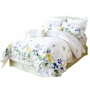 J&amp;J Bedding Classic Meadow Comforter Set - Size: Queen at Sears.com