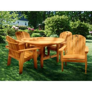 Tree Frog Studio Garden Dining Set - Finish: Natural at Sears.com