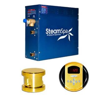 Steam Spa 6 KW Oasis Steam Generator Package - Finish: Gold at Sears.com