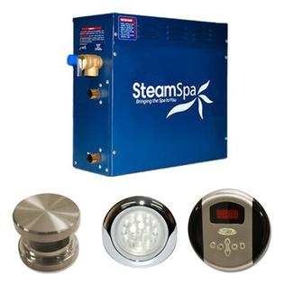 Steam Spa 6 KW Indulgence Steam Generator Package - Finish: Brushed Nickel at Sears.com