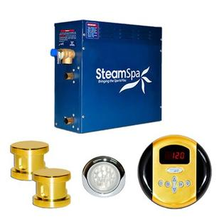 Steam Spa 12 KW Indulgence Steam Generator Package - Finish: Gold at Sears.com