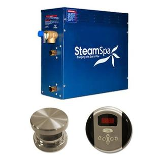 Steam Spa 7.5 KW Oasis Steam Generator Package - Finish: Brushed Nickel at Sears.com