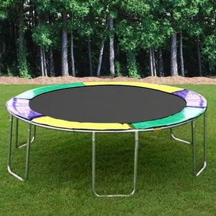 KIDWISE 12 ft. Round Trampoline - Pad Color: Green/Purple/Yellow at Sears.com