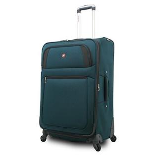 Wenger Swiss Gear 25.5&amp;#34; Spinner Suitcase - Color: Teal Green / Grey at Sears.com