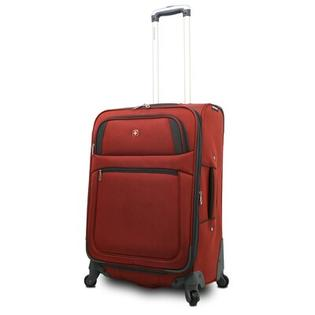 Wenger Swiss Gear 25.5&amp;#34; Spinner Suitcase - Color: Rust / Grey at Sears.com