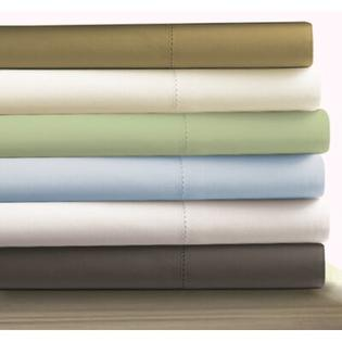 Tribeca Living Egyptian Cotton 800 Thread Count Extra Deep Pocket Sheet Set - Size: King, Color: Green at Sears.com
