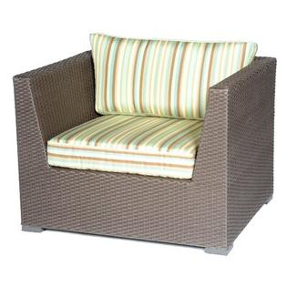 Meadow Decor Carmel Deep Seating Arm Chair with Cushions - Color: Canvas Spa at Sears.com