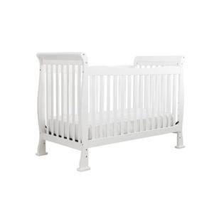 DaVinci Reagan 4-in-1 Crib with Toddler Rail in Pure White at Sears.com