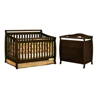 AFG International Products Athena Amy Convertible Crib Set in Espresso at Sears.com