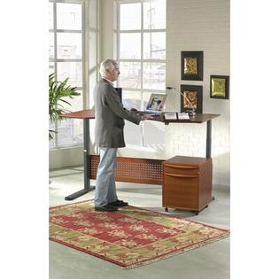 The Ergo Office Collection 17 Adjustable Computer Desk - Finish: Espresso at Sears.com