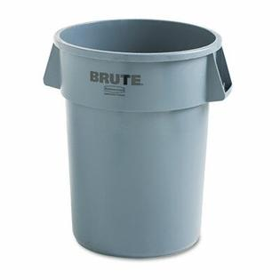 RUBBERMAID COMMERCIAL PRODUCTS Brute Refuse Container, Round, 32 Gal at Sears.com