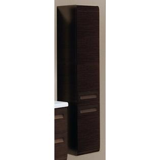 Iotti by Nameeks Integral Tall Storage Cabinet - Finish: Wenge, Door Orientation: Left Hand Side at Sears.com