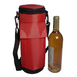 Maranda Enterprises Re-Freezable Wine Bottle Cooler in Red at Sears.com
