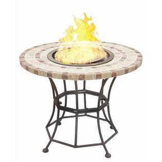 BlackandStone VioFlame Marble Top Fire Pit Table with Ethanol Burner - Burner Shape: Round at Sears.com